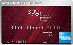 American Express Starwood Rewards – My New Credit Card