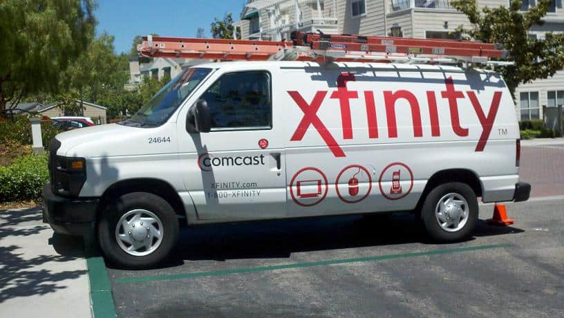 Comcast Truck
