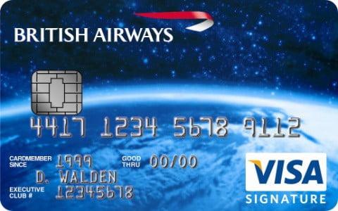 British Airways Visa Signature EMV