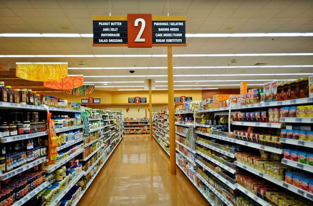 Grocery Store Aisle 2