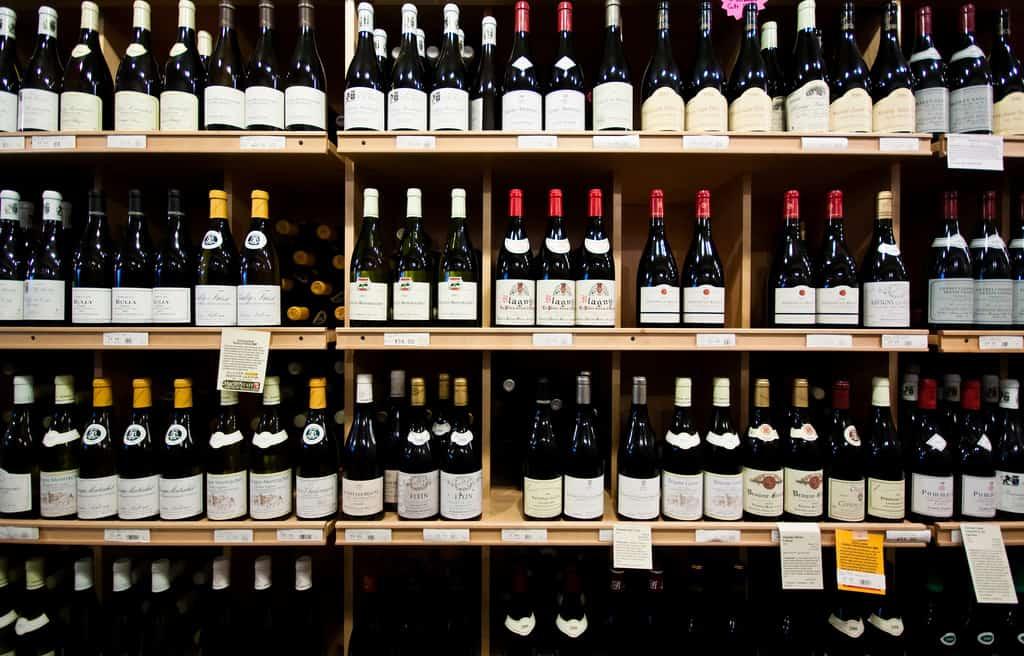 Wine Store Shopping