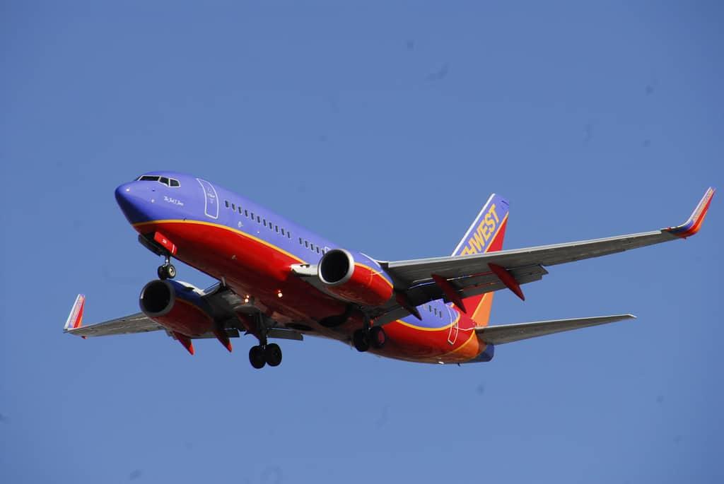 Southwest Jet Plane