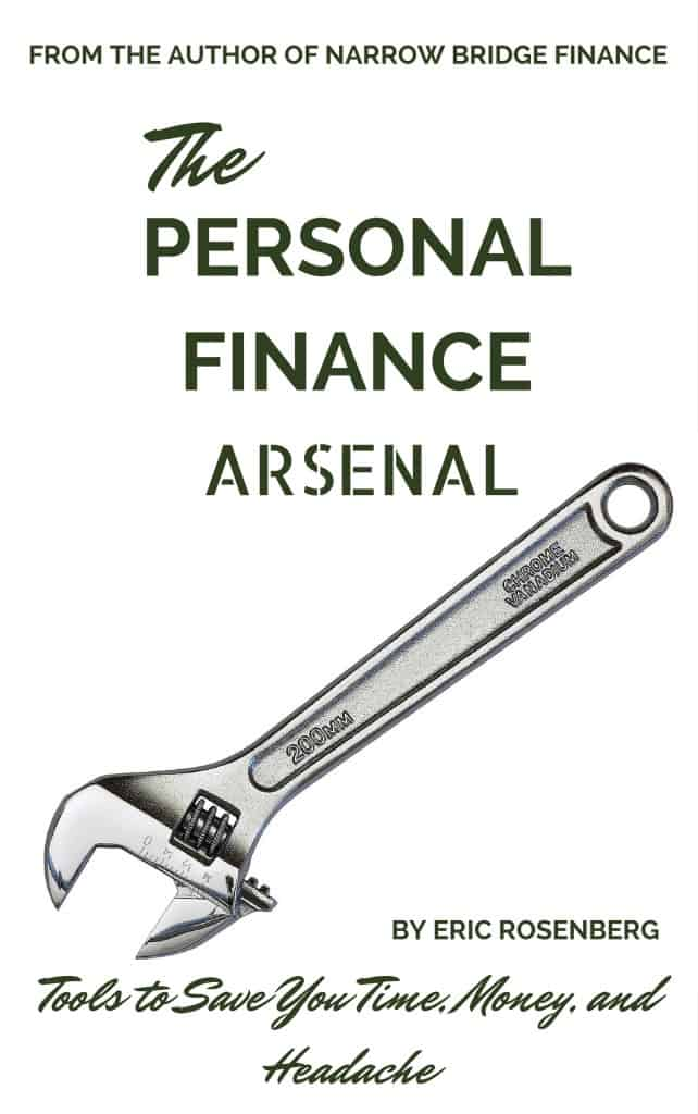 The Personal Finance Arsenal Cover