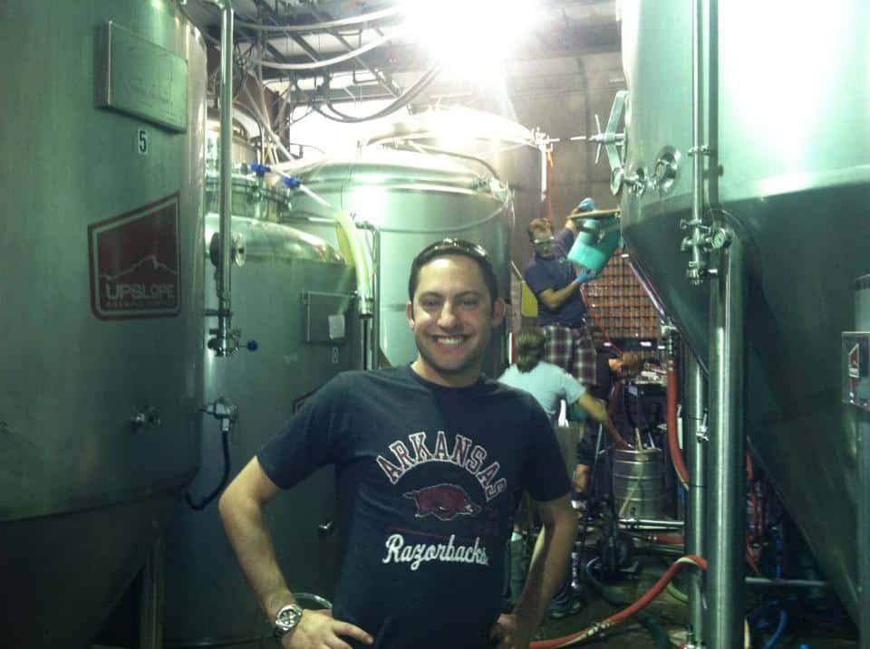 Eric at Upslope Brewery