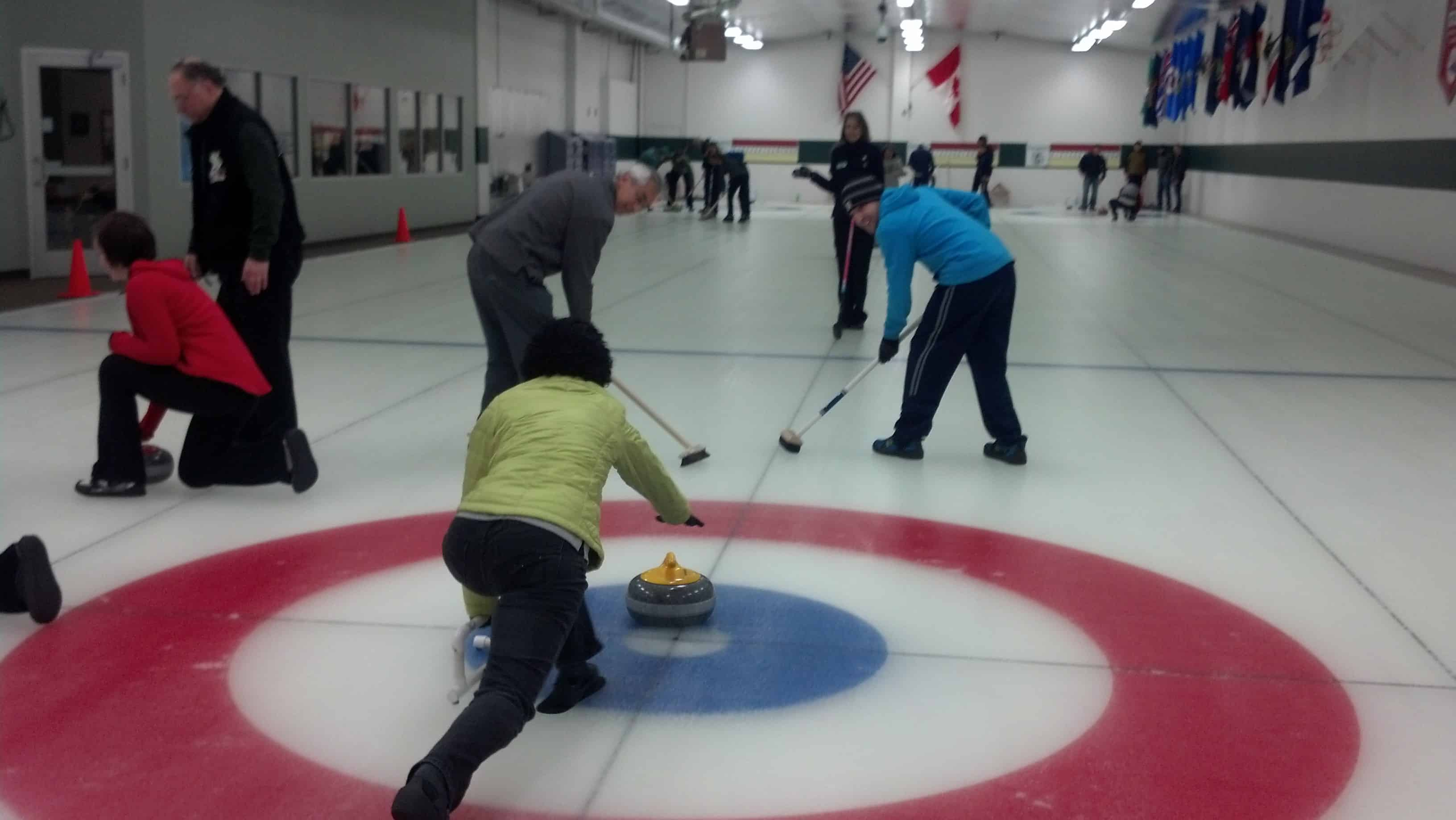 Eric Rosenberg Curling