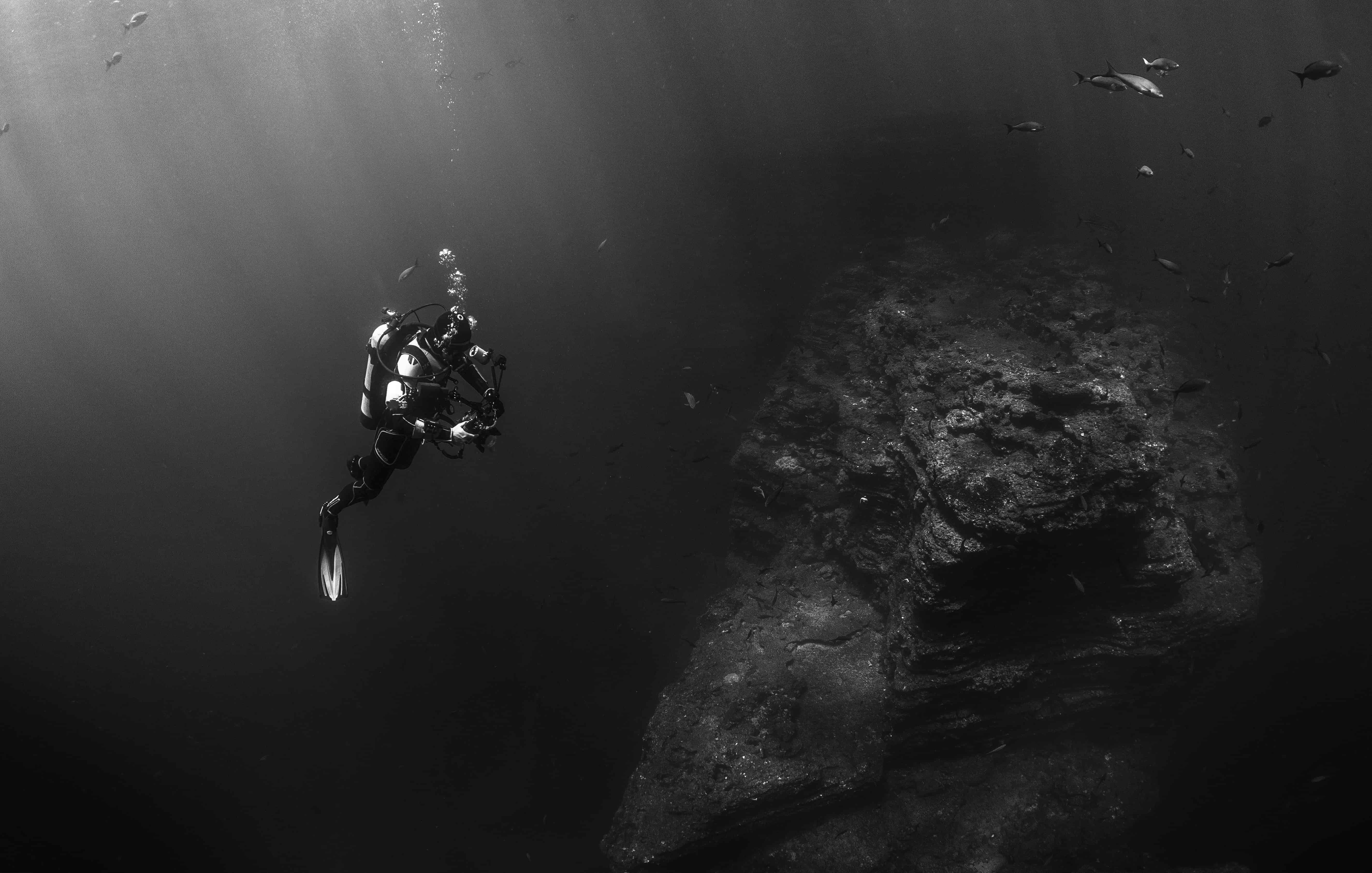 Scuba Diving Photography