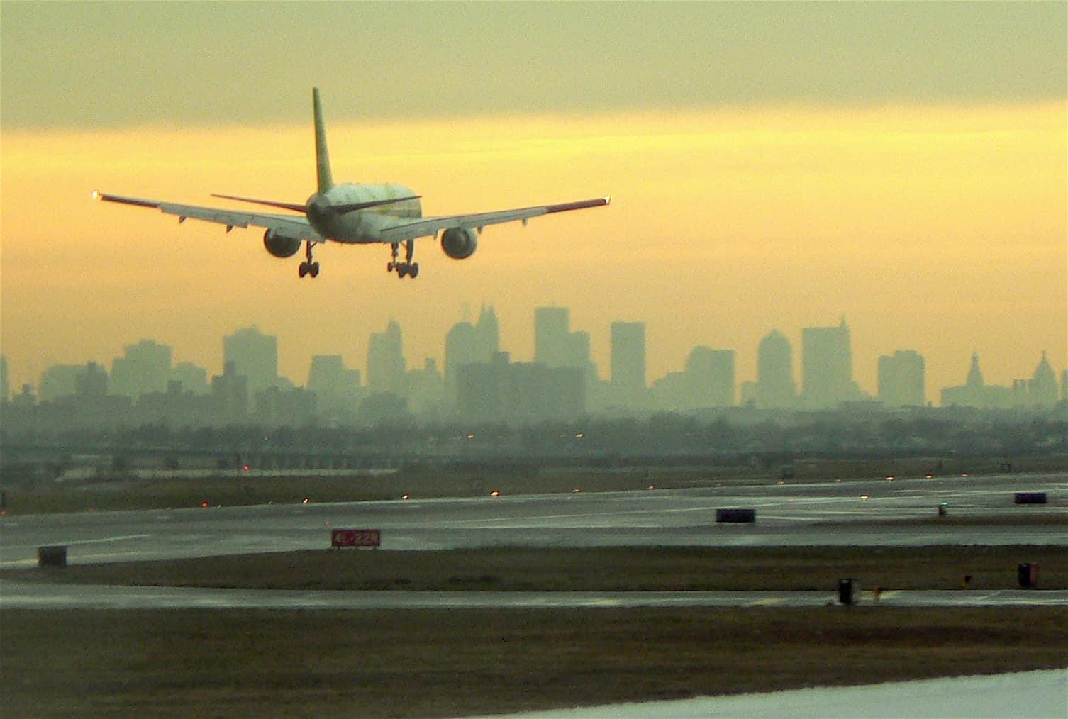 Plane Takeoff New York