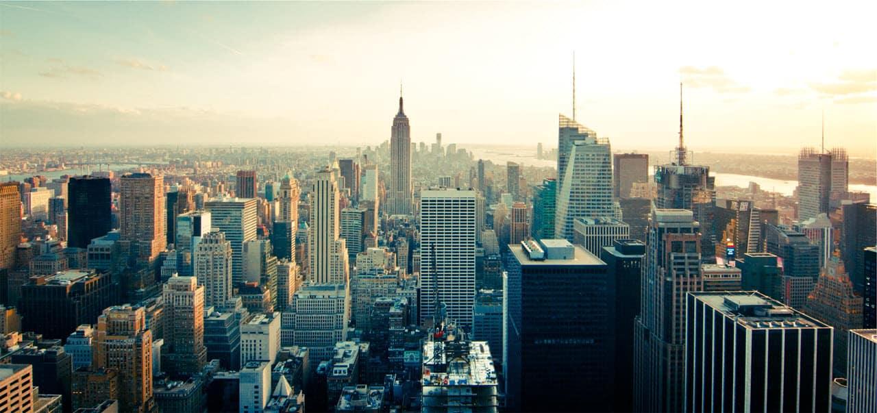New York City Skyline PersonalProfitability.com