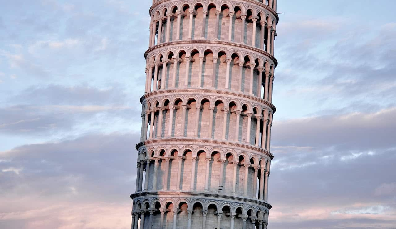 Leaning Tower of Piza Italy - PersonalProfitability.com
