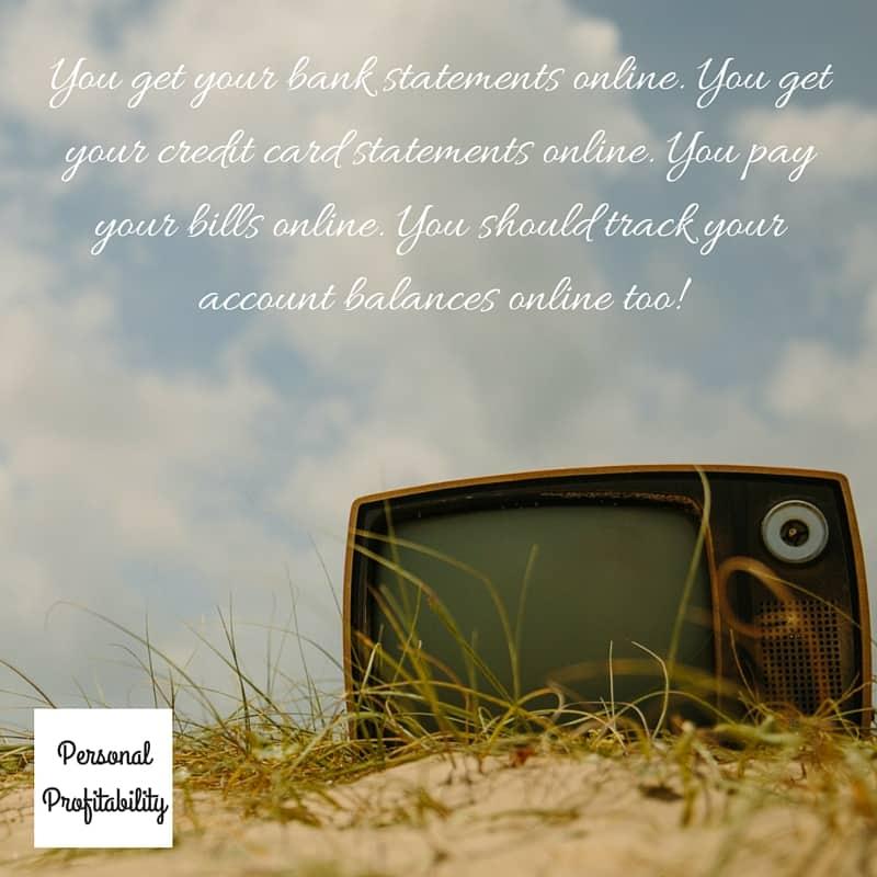 online checkbook management
