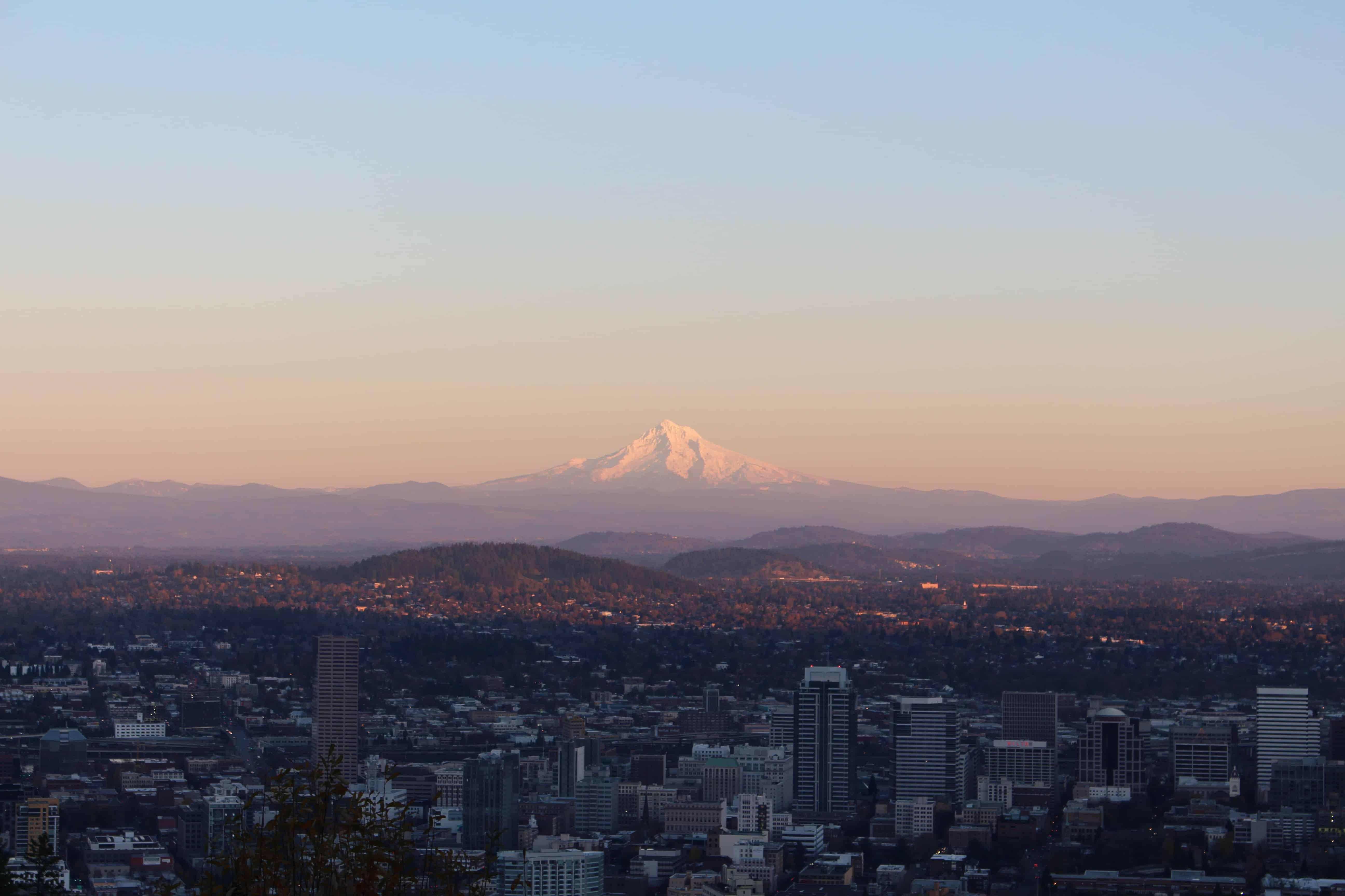 Mount Hood Portland Oregon PersonalProfitability.com