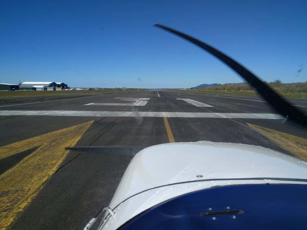 Astoria Oregon Runway