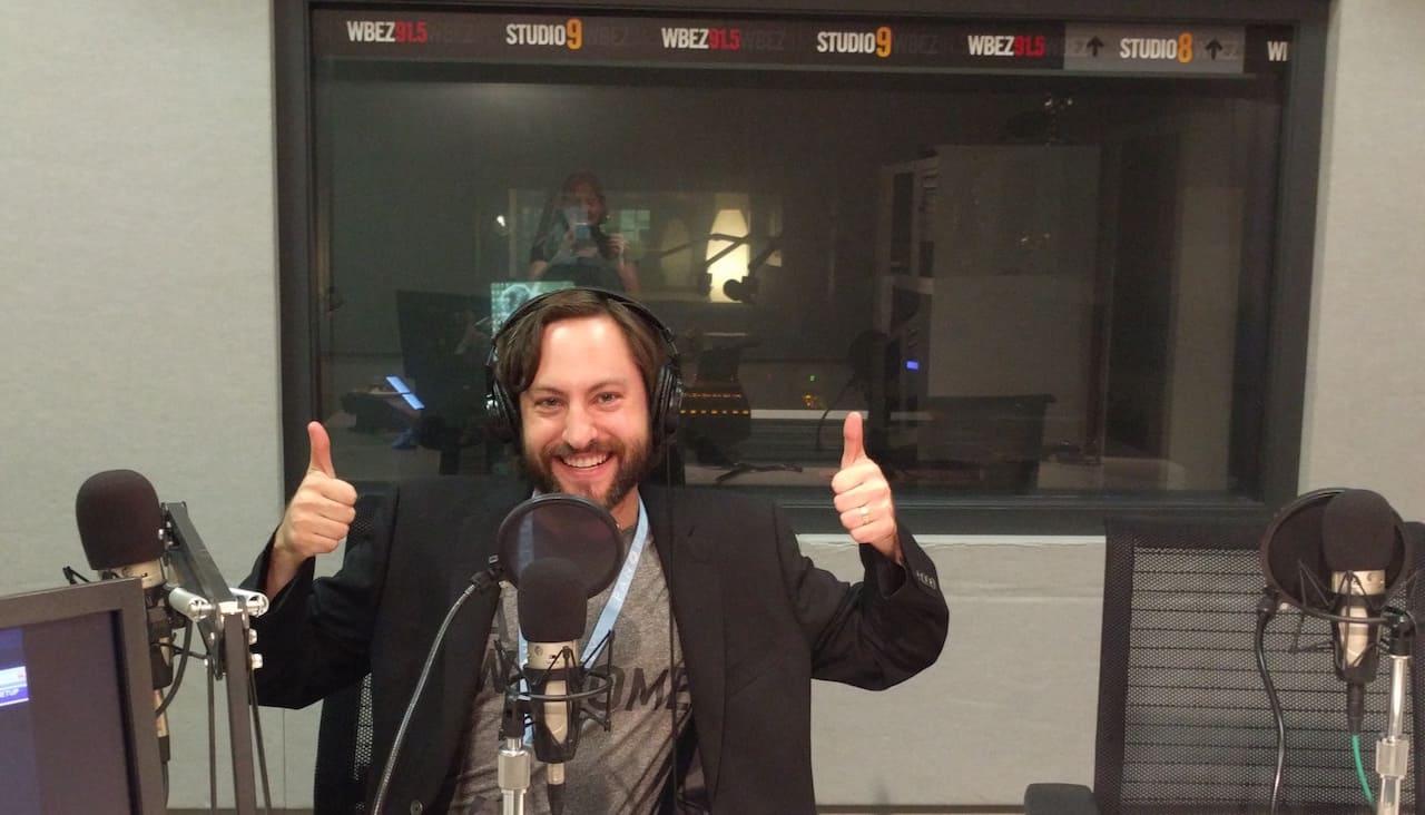 Eric Rosenberg WBEZ This American Life Studio
