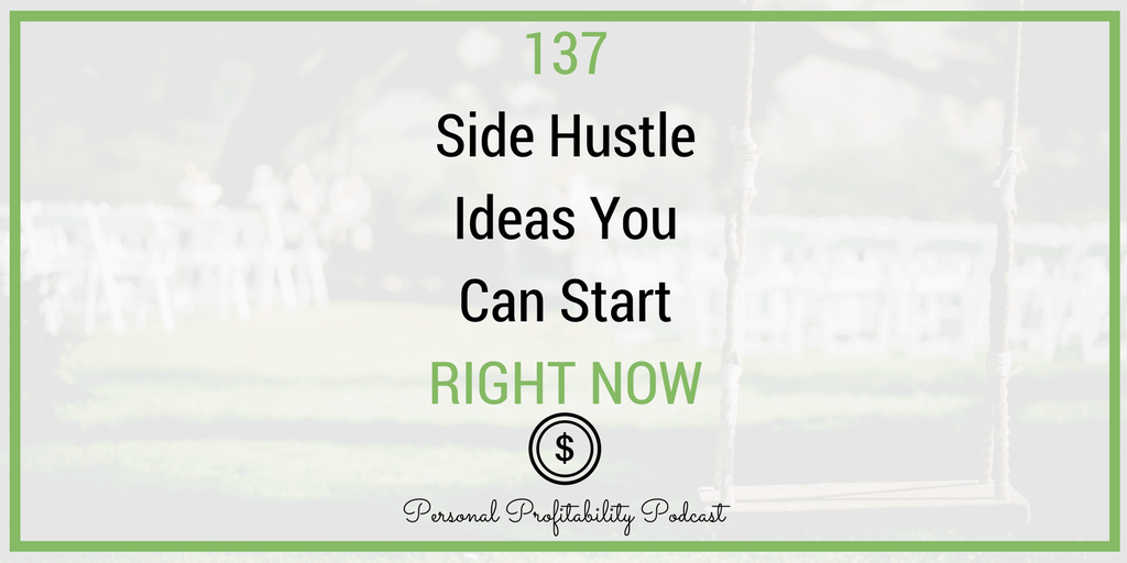 Looking to earn more income on the side? These 137 side hustle ideas have everything you need to get started and more! Get profitable today!