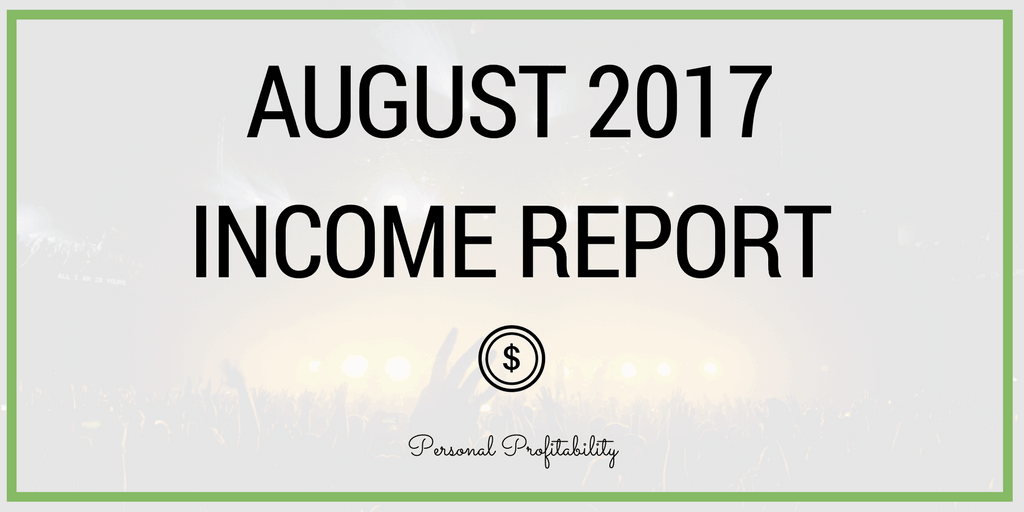 Another month, another great result. Learn exactly how much I earned online in August and how you can reach online five figure income in this post.