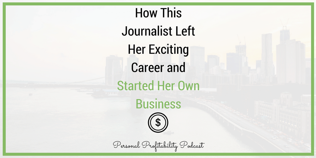 Erica spent years building a career in broadcast news, moving around the country and finally landing in one of the world's biggest TV markets: the coveted Los Angeles metro area. But after getting there, Mandy decided she needed a change.
