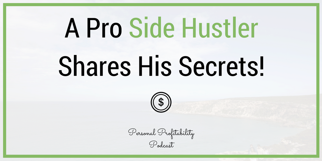 Nick Loper is the man behind the Side Hustle Nation podcast and blog. Learn how to start your first profitable side hustle in this week's episode.