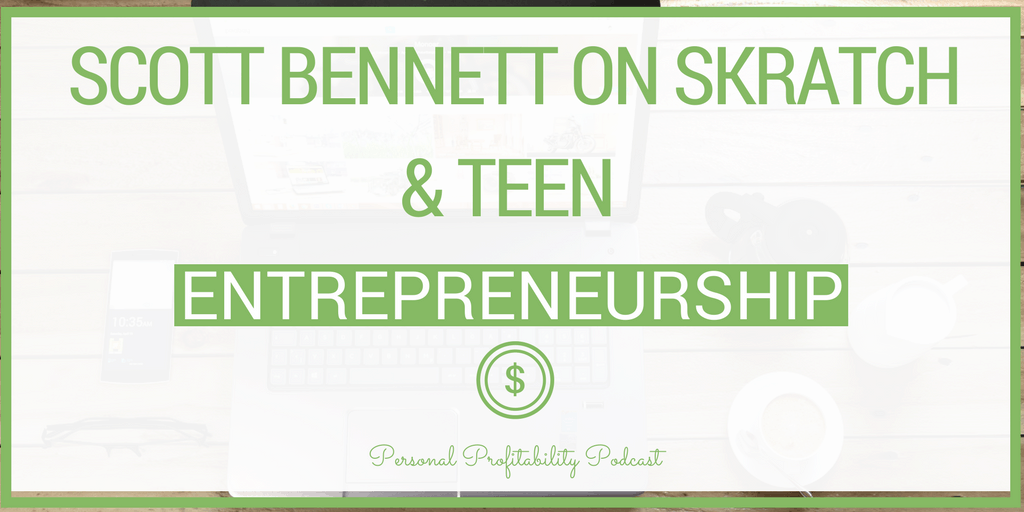 Young people used to be able to walk into a restaurant or retail store and easily get a job, but Scott Bennett found that wasn't the case with his kids. Getting a job today is not as easy as it used to be. So Scott created a solution for his kids and a huge number of teens through his startup Skratch.
