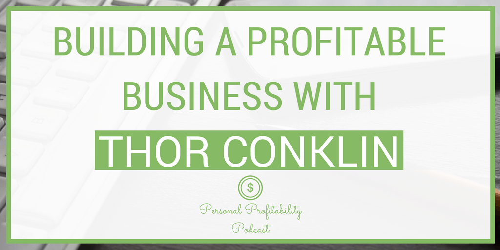 On episode 95, I'm talking to an amazing business coach, Thor Conklin. He's also a serial entrepreneur who has built multiple successful businesses, and in this episode he shares his advice for us on building a successful business.